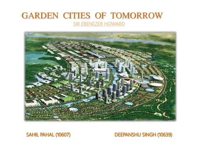 Garden Cities of Tommorow by Sir Ebenezer Howard