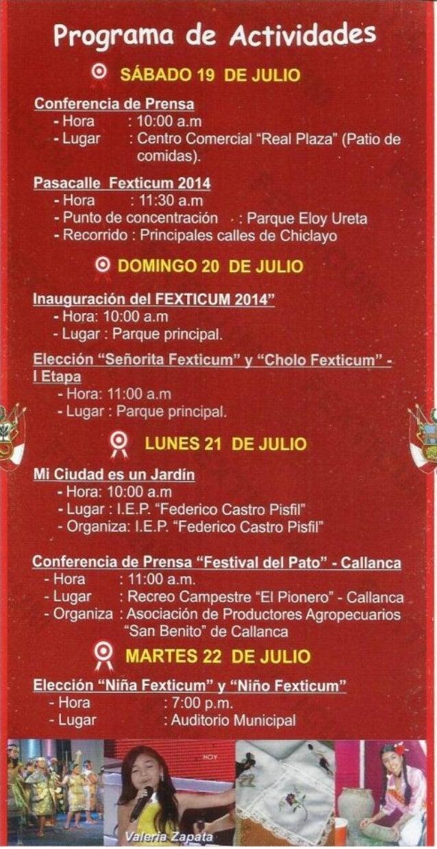 Programa del Fexticum 2014 Slide 3