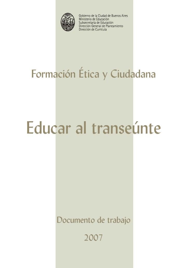 Gobierno de la Ciudad de Buenos Aires            Ministerio de Educación            Subsecretaría de Educación            ...