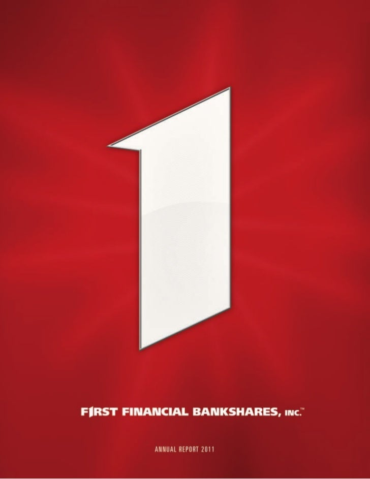 You, First.First Financial Bank is not your everyday   So what sets us apart from other banks?        this year's annual r...