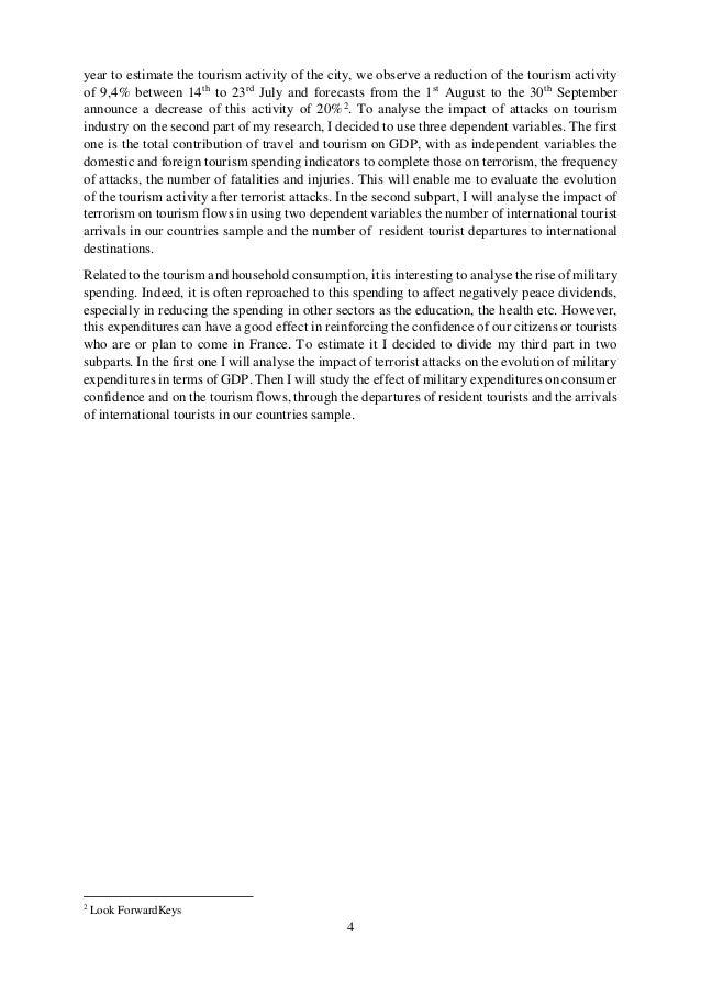 Master thesis on economic development