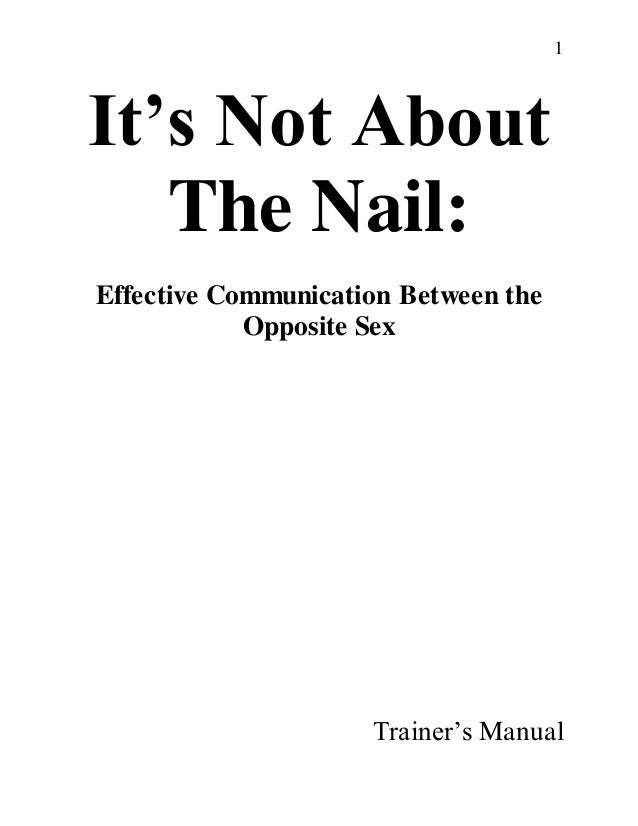 It\'s Not About The Nail Trainers Packet-1