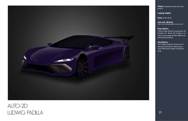 Client: Projet personnel, personal project Ludwig Padilla Date: 20-02-2016 Site web, Website: http://www.ludwigpadilla.cre...