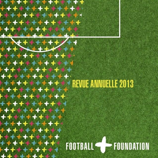REVUE ANNUELLE 2013