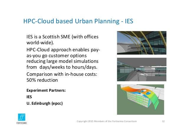HPC‐CloudbasedUrbanPlanning‐ IES IESisaScottishSME(withoffices world‐wide). HPC‐Cloudapproachenablespay‐ as...