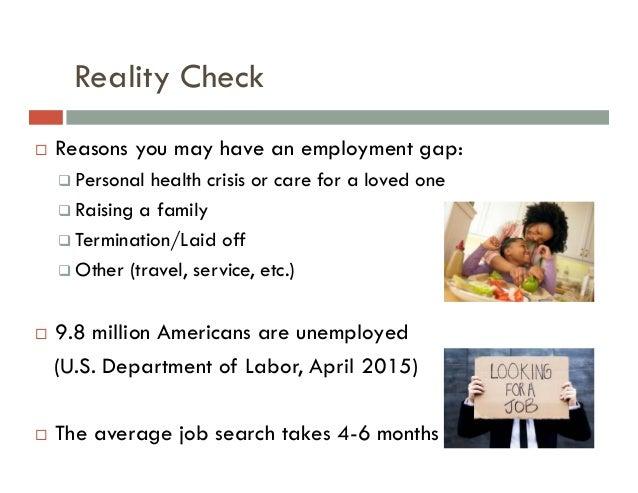 SlideShare  Gap In Employment