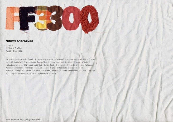 FF3300 issue #3