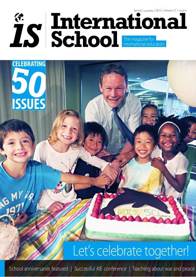 International Schools Magazine Spring Autumn 2015