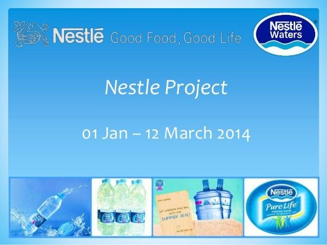 Nestle Water Presentation