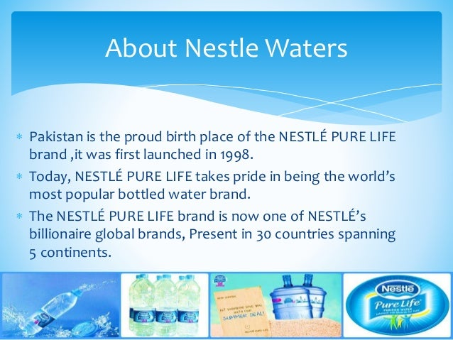 Nestle Water Presentation