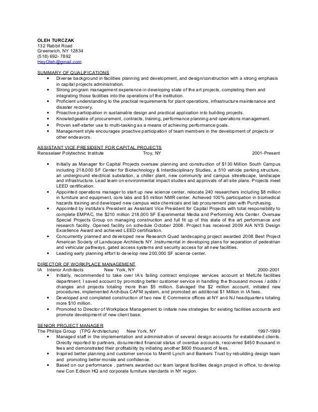 resume update 07022015