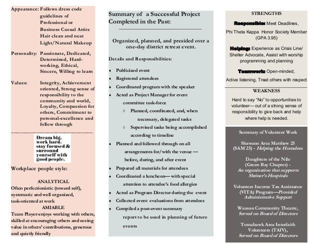 Christensen-Career Planning-Assignment-Personal Branding Slide 2