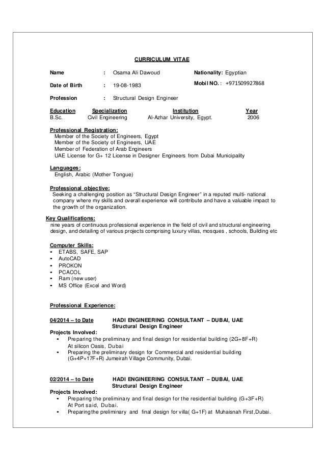 osama-structure-eng-cv-1-638 Current Curriculum Vitae Structure on letter of recommendation structure, training structure, software structure, research structure, business structure, art structure, introduction structure,