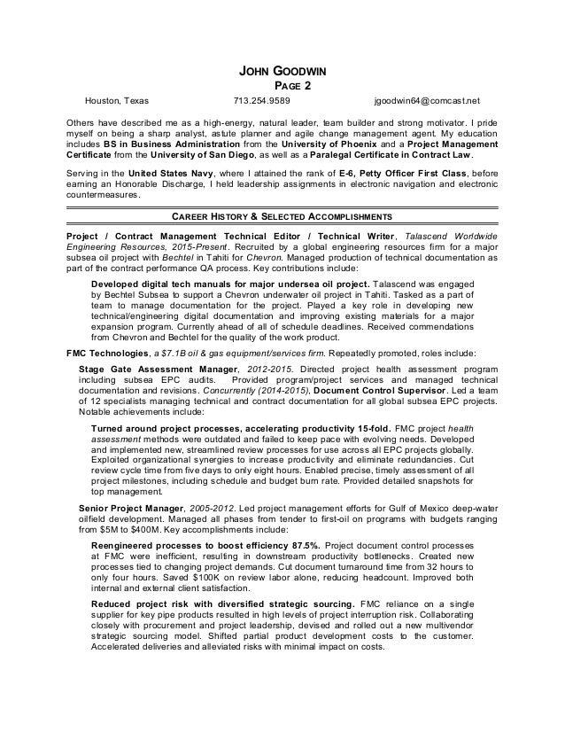 Goodwin John Expanded Resume