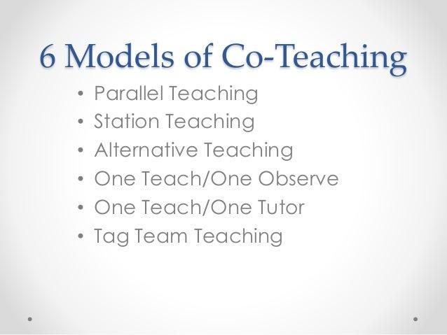 Collaborative Co Teaching Model ~ True collaboration