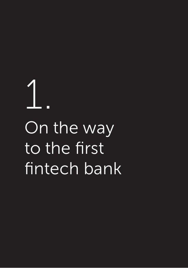 The First Fintech Bank's Arrival (book, pdf, 252 pages) by