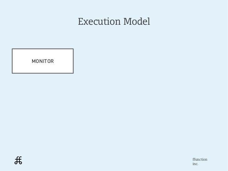 Execution ModelMONITOR                            ffunction                            inc.