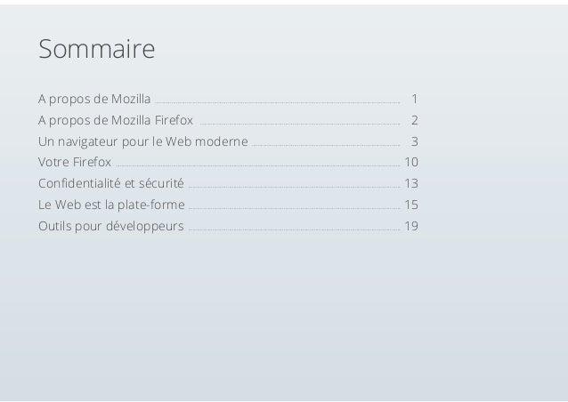 Guide officiel de l'utilisateur Firefox Slide 2