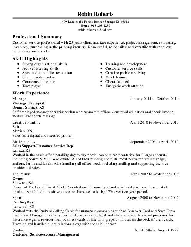 robin roberts resume 4