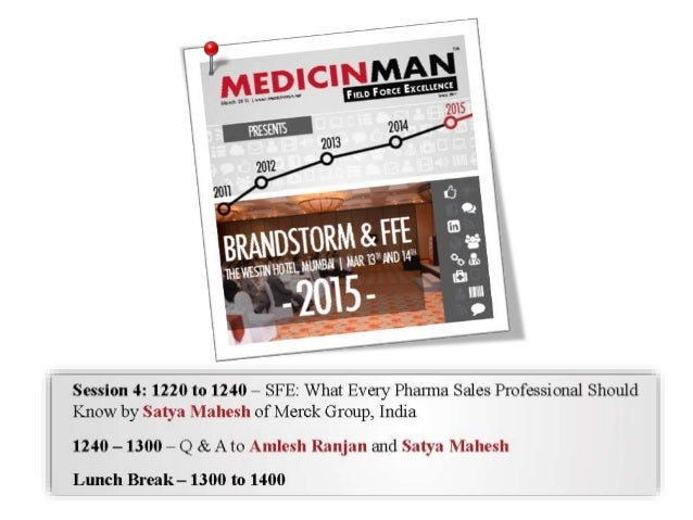 SFE, What every pharma sales professional should know ? Slide 2
