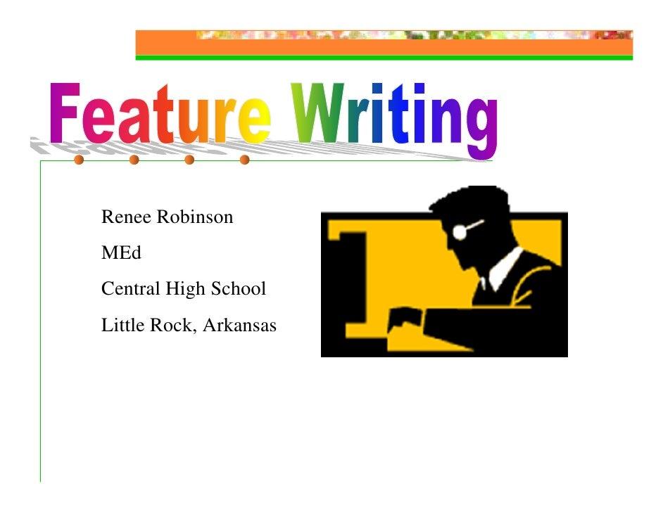Renee Robinson MEd Central High School Little Rock, Arkansas