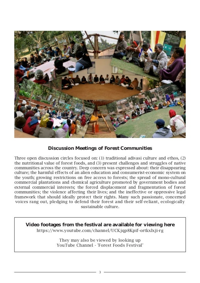 Forest Food and Ecology Festival, December 2014