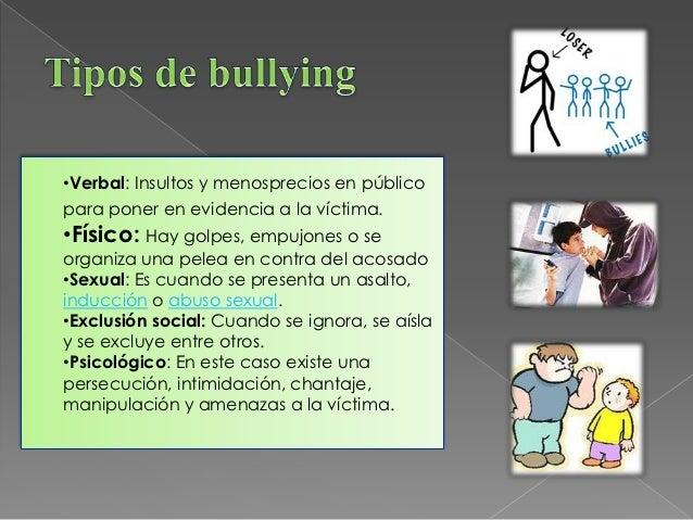  Personales: Un niño que actúa de manera  agresiva sufre intimidaciones o algún tipo de  abuso en la escuela o en la fami...