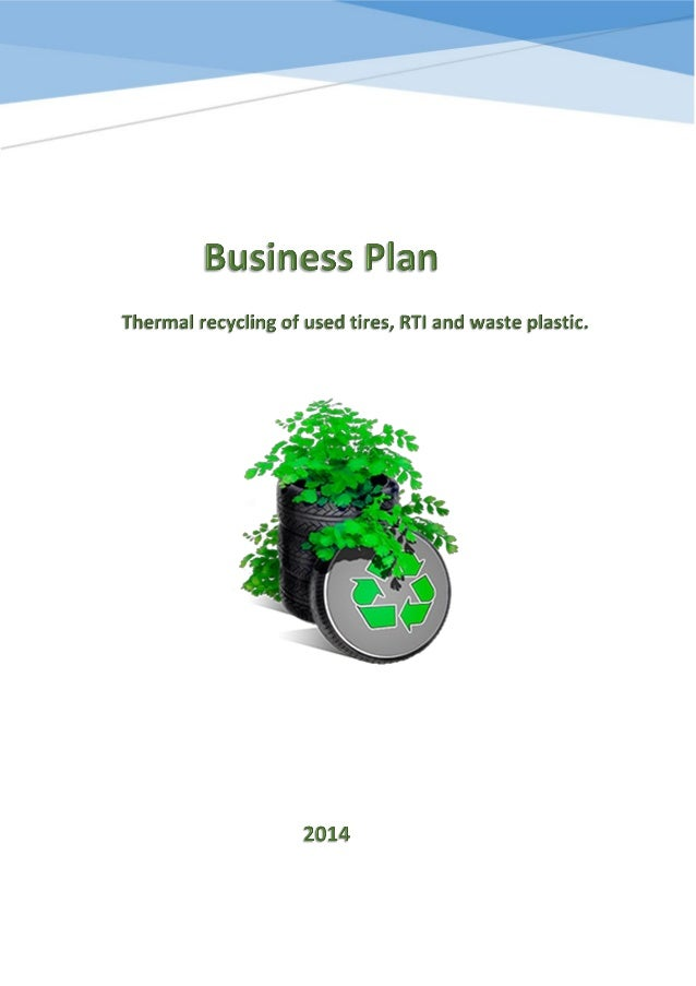 tire recycling business plan pyrolysis