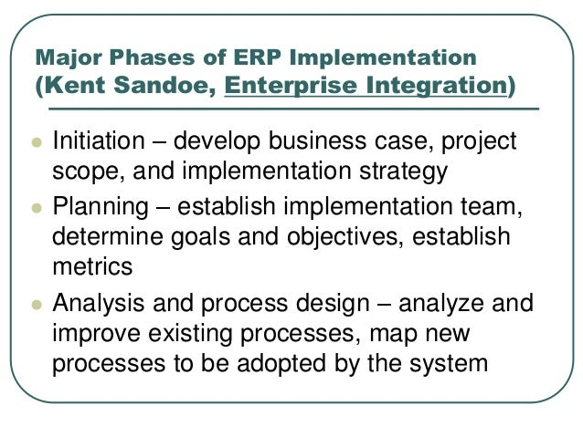 the purpose and benefits of implementing the enterprise resource planning system erp in an organizat What are enterprise resource planning systems an enterprise resource planning system is every information the benefits of enterprise resource planning.