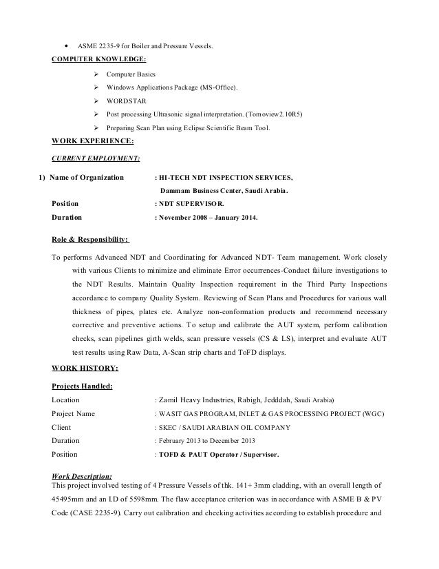 santosh nair resume