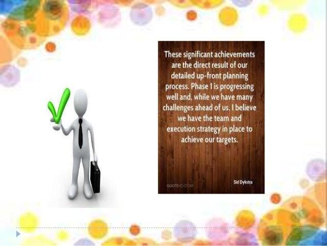 principle of planning