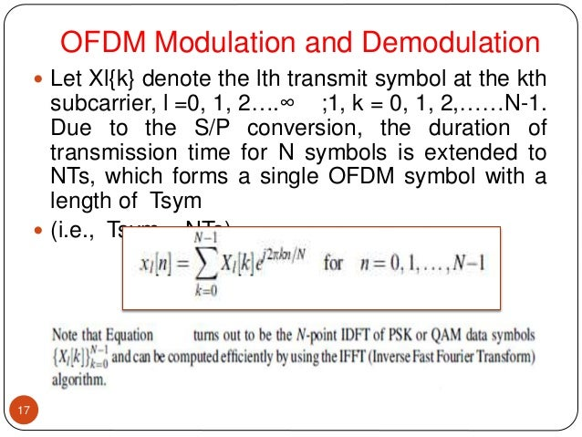 OFDM Modulation Ventures