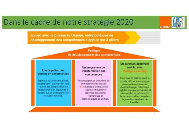 Dans le cadre de notre stratégie 2020
