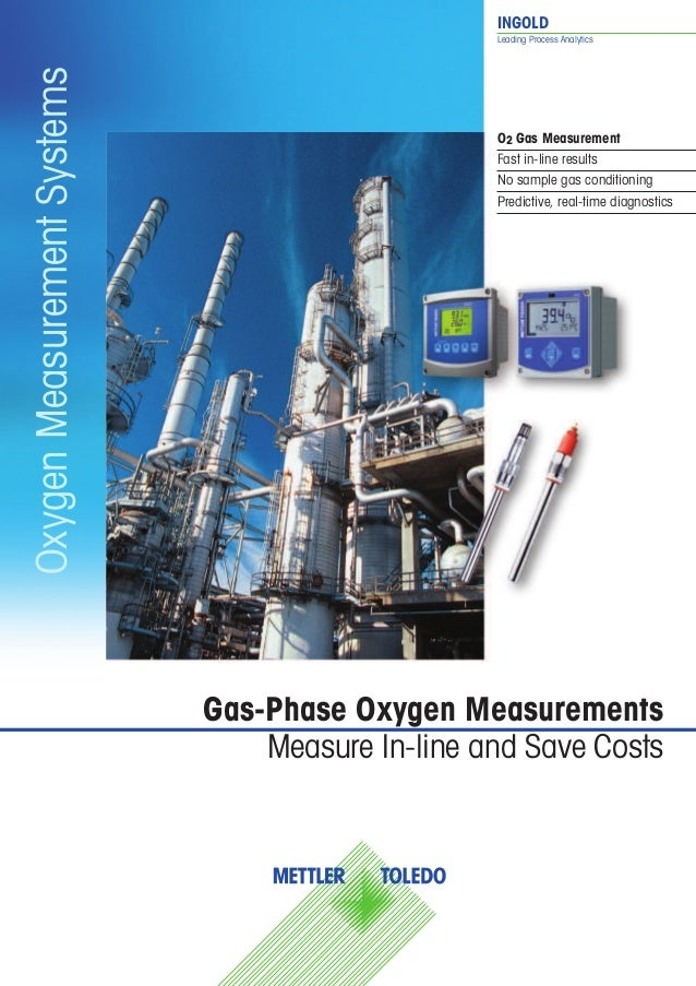 INGOLD Leading Process Analytics Gas-Phase Oxygen Measurements Measure In-line and Save Costs OxygenMeasurementSystems O2 ...
