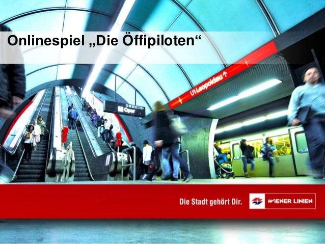 """Onlinespiel """"Die Öffipiloten"""""""
