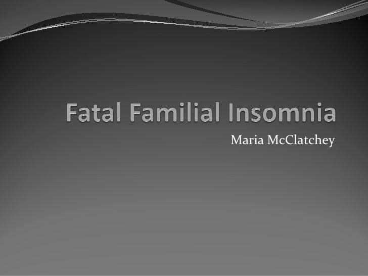 Maria McClatchey