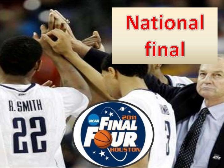 National final<br />