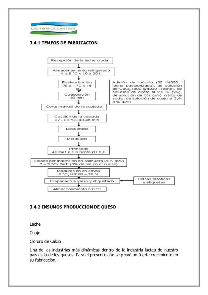 3.6 PLANTA Y MAQUINARIA DE PRODUCCION QUESO