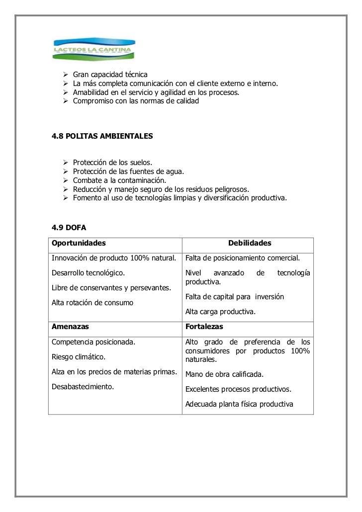 4.10.1 FUNCION Y RESPONSABLE            PUESTO O FUNCION                          RESPONSABLE      GERENTE GENERAL       ...