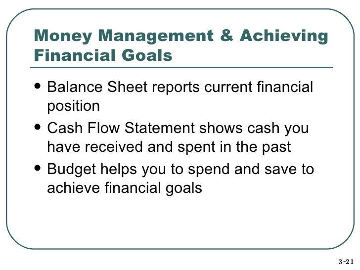 14 money management - Cash Management Skills