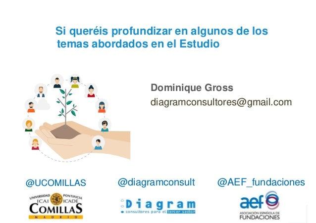 36 FFPF. Las Fundaciones Filantrópicas Personales y Familiares en España Dominique Gross diagramconsultores@gmail.com Si q...