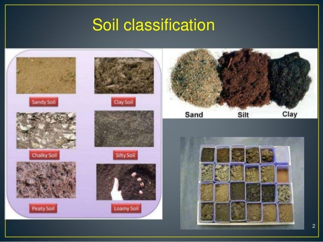 Soil classification and construction equipments for Soil classification