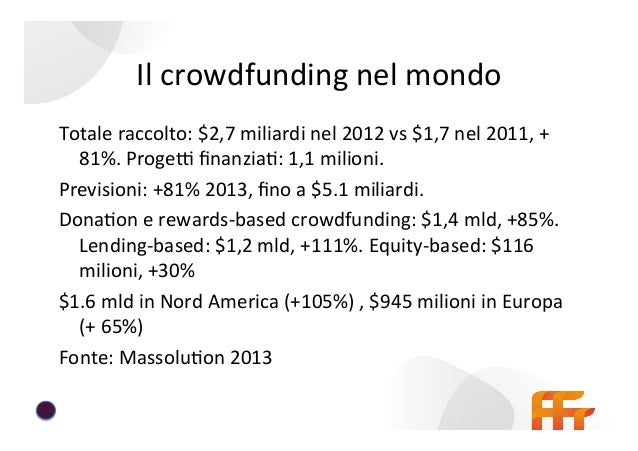 Analisi  delle  piaEaforme  italiane  di   crowdfunding   • Edizione  aggiornata  a  Maggio  2014  ...