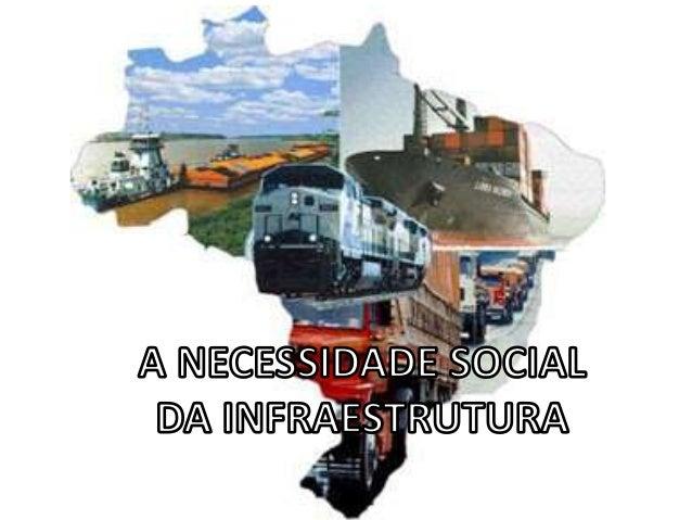 Para que a vida social e a produção econômica sejam viáveis, é necessário que existam meios de transporte para a circulaçã...