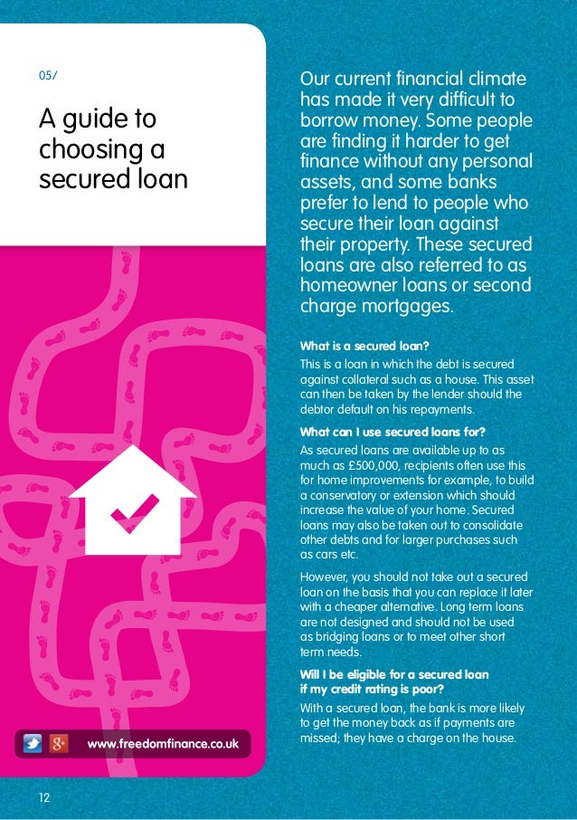 Freedom finance guide to borrowing for Best way to borrow money to buy land