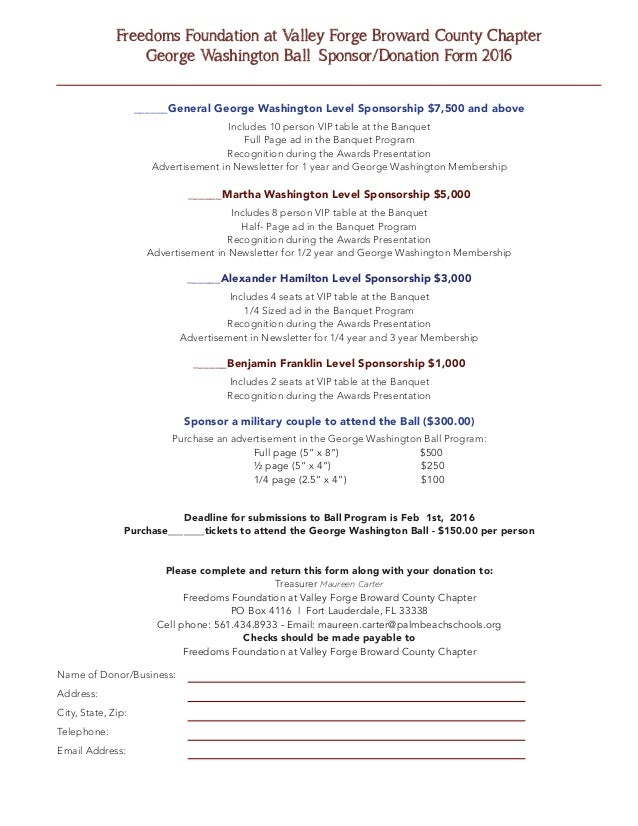 Freedoms Foundation at Valley Forge October 2015 Newsletter