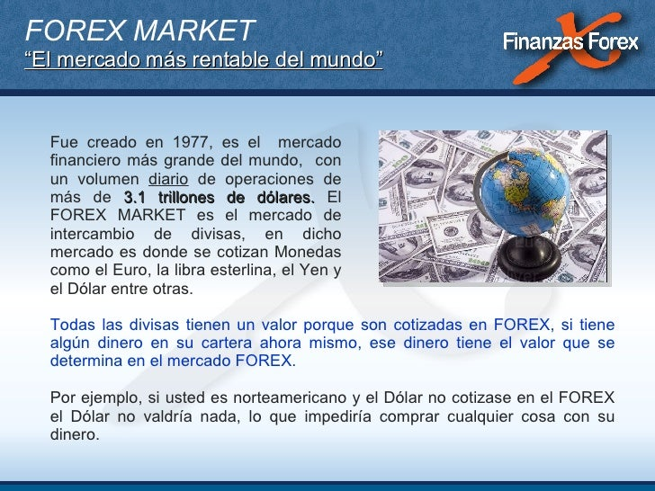 Finanzas forex devolucion 2013