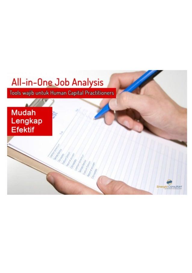 1 All-in-One Job Analysis Form Halo Human Capital Practitioners, terima kasih telah mendownload All In One Job Analysis F...