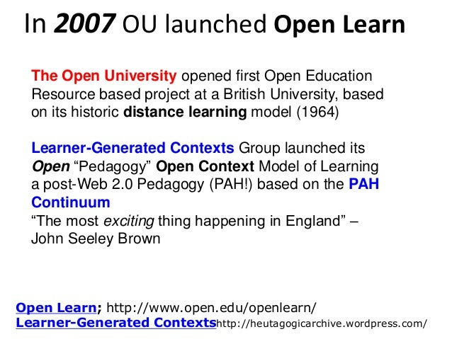 WikiQuals and Open Learning