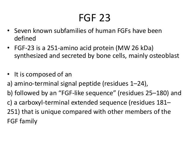 Fgf 23 and klotho Slide 2